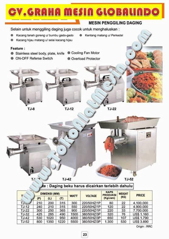 10%20MEAT%20GRINDER Mesin Giling Bakso   Penggiling Daging Baso   Usaha Penggilingan Daging   Cara Membuat Bakso