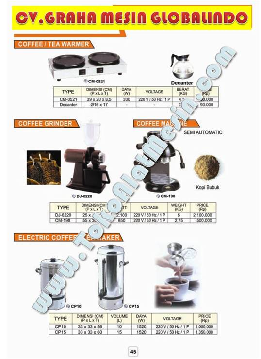 14%20Coffee%20machine%201 Mesin Penggiling Kopi Teh   Coffee Grinder   Mesin Kopi Coffee Maker