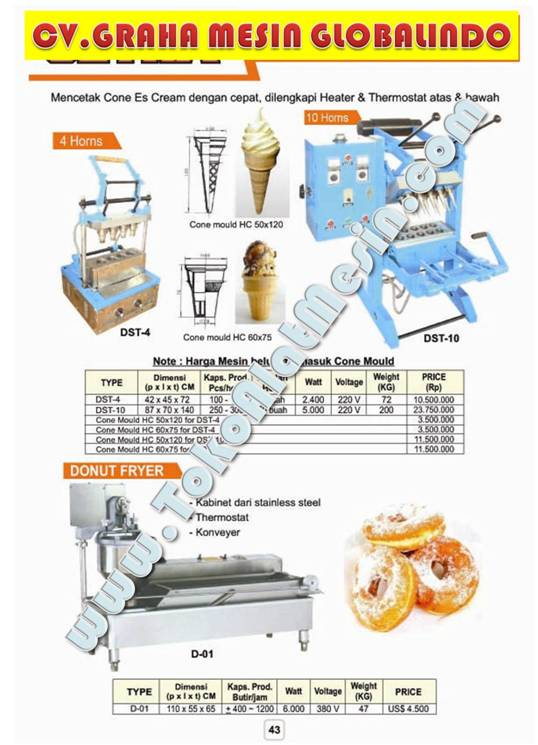 14%20Ice%20cream%20Cone%20baker%201 Mesin Usaha Pop Corn Machine   Catton Candy Gula Kapas