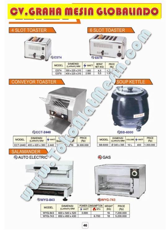 14%20Toaster%20Salamander%201 Alat Pemasak Air   Mesin Pemanas Air   Alat Untuk Memasak Air   Water Boiler