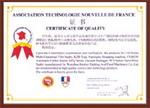 sertifikat prancis Mesin untuk membuat es krim cone dan alat masak penggoreng donat