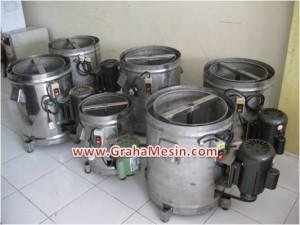 Spinner – Mesin Peniris Minyak Goreng Deoil & Dewater