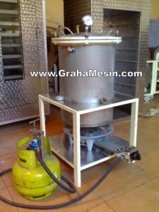 Mesin Presto ( Ikan Daging) dan Autocluve Sterilizer