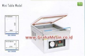 Mesin Pengemas Vakum Vacuum Packager DZ 400 DZ 300