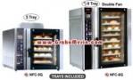 Mesin Oven Roti Kue Kering Dengan Pemanggang Panggangan Gas LPG