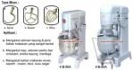 Mesin Mixer Roti Planetary Mixer Kue Alat Pengaduk Adonan Roti