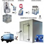 Cold Room for Storage Ice Tube / Ice Cube