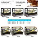 Countertop Cake Showcase | Cake showcase | Sushi Showcase