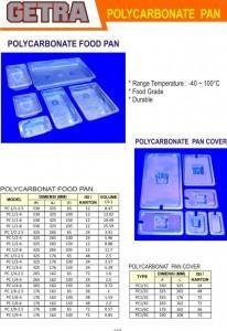 Polycarbonate Pan