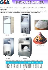 Snow Ice Maker | Flake Ice Maker