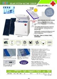 Solar System Vaccine Cooler | Vaccine Cooler / Freezer