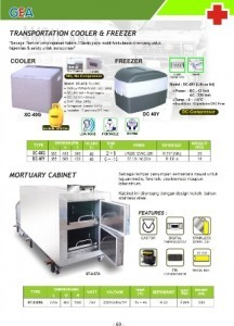 Transportation Cooler & Freezer