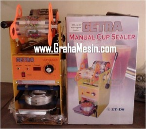 Jual Cup Sealer Manual Mesin Sealer Gelas Minuman Plastik