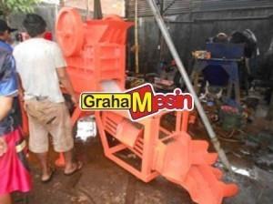 Mesin Stone Crusher | Alat Penghancur Batu | Mesin Pelumat Batu