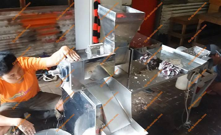 Mesin Srew Press Kelapa