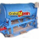 Mesin Pengering Serbuk Sistem Putar | Mesin Rotary Dryer