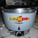 Mesin Rice Cooker Commercial | Alat Penanak Nasi | Mesin Pemasak Nasi