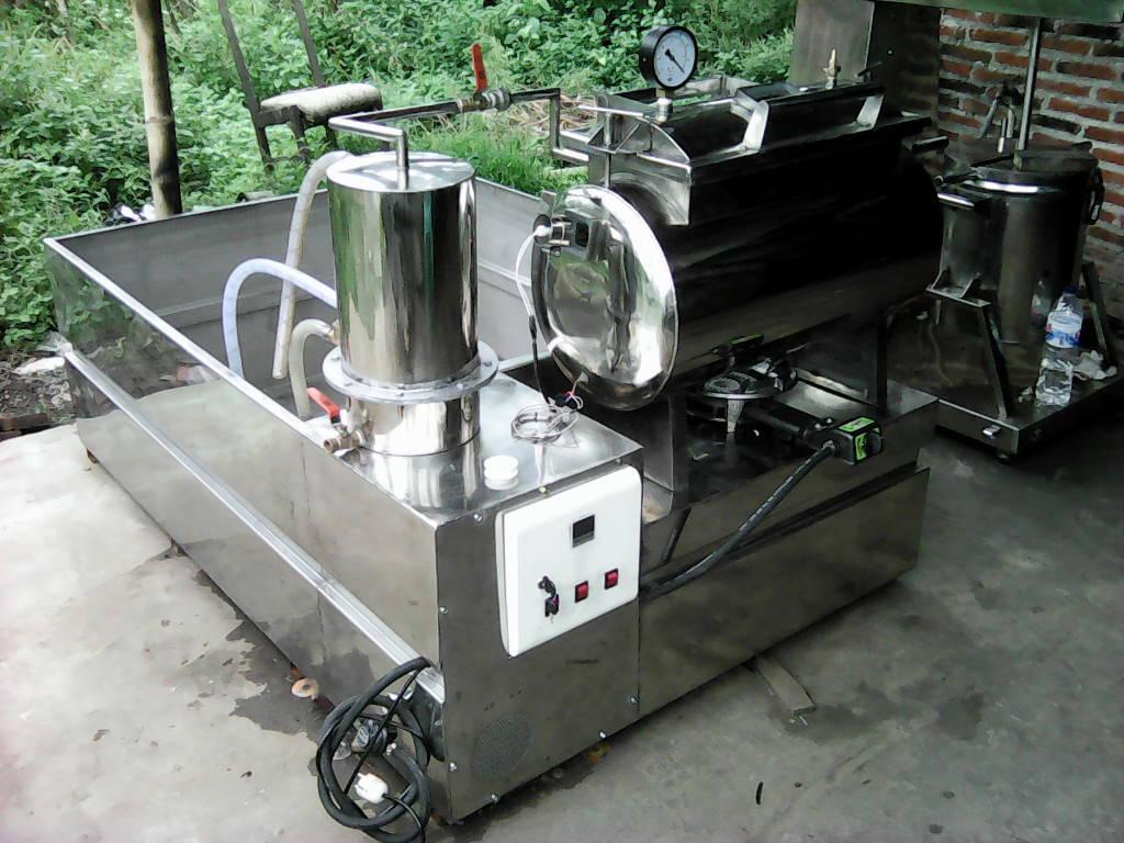 Pembuatan Mesin Vacuum Frying Canggih Serbaguna