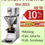 Harga Mesin Pencetak Bakso Murah di Mei 2015 | READY STOCK