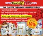 Harga Mesin Roti Promo Lebaran | Bakery Equipment Surabaya Jakarta