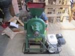 Mesin Penggiling Biji-bijian Alat Disc Mill Praktis