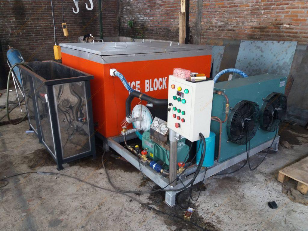 Mesin Pembuat Es Balok | Mesin Pabrik Es Balok