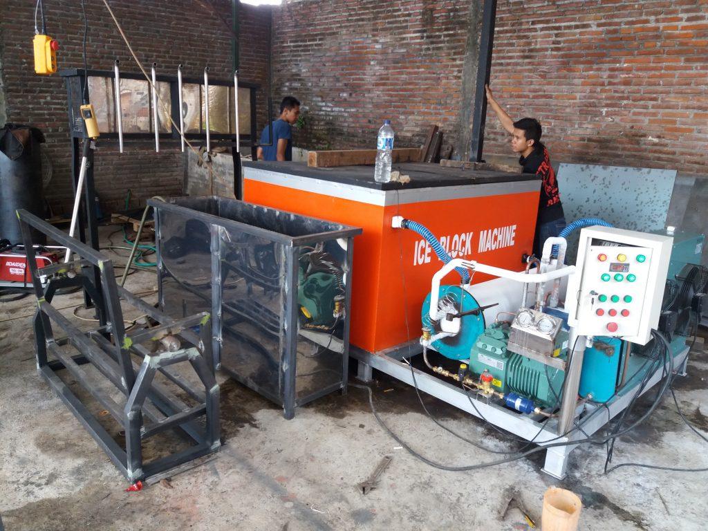 Cara Membuat Mesin Es Balok