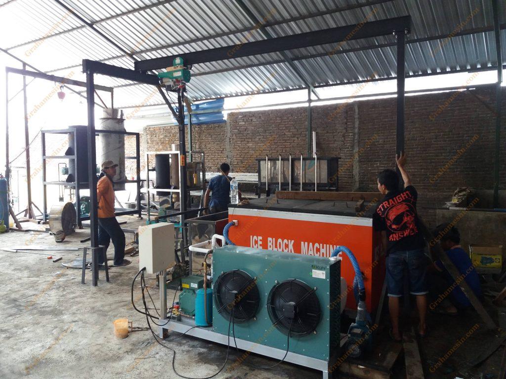 Cara Membuat Mesin Es balok | Pembuatan Mesin Es Balok