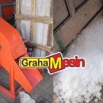 Mesin Penghancur Es Balok Terbaru Otomatis (Mesin Es Crusher)