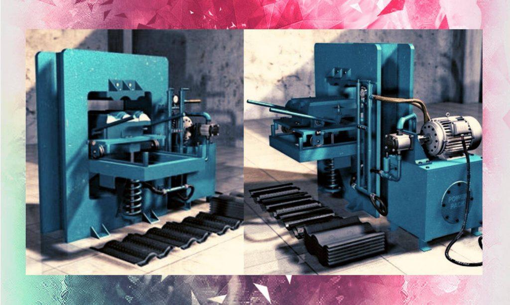 mesin pembuat genteng