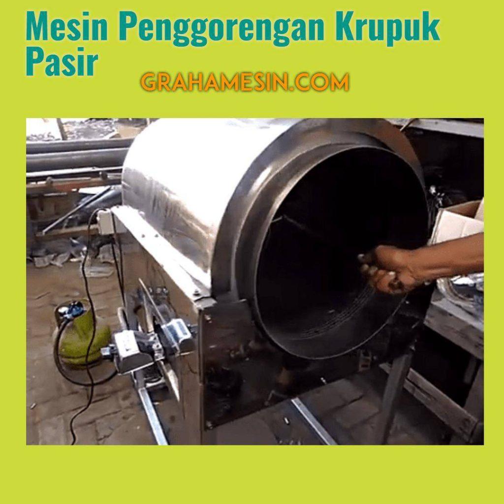 Mesin Penggorengan Krupuk Pasir GrahaMesin.Com