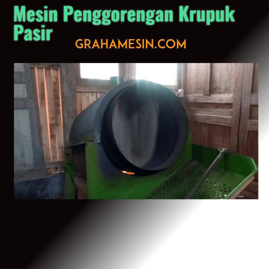 Mesin Penggorengan Krupuk Pasir Sederhana-2018