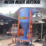 Mesin Mixer Pengaduk Vertikal Dan Horisontal Serbaguna