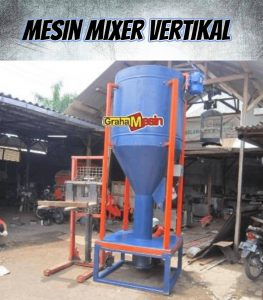 mesin mixer model vertikal