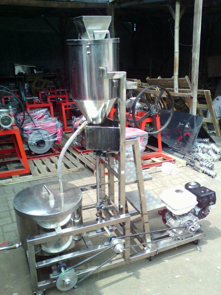 mesin blender buah dan spinner motor