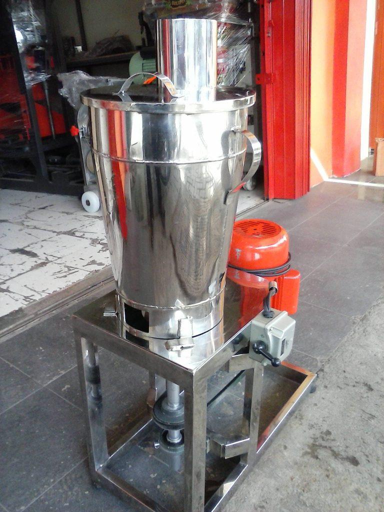 mesin blender buah industri tanpa spinner