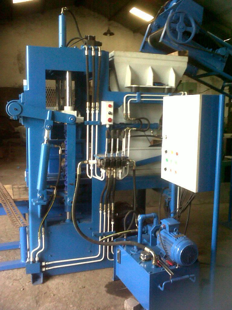 Mesin Press batako / Paving Hidrolik