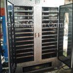 Mesin Oven Pengering 24 Rak Bahan Steinless Steel