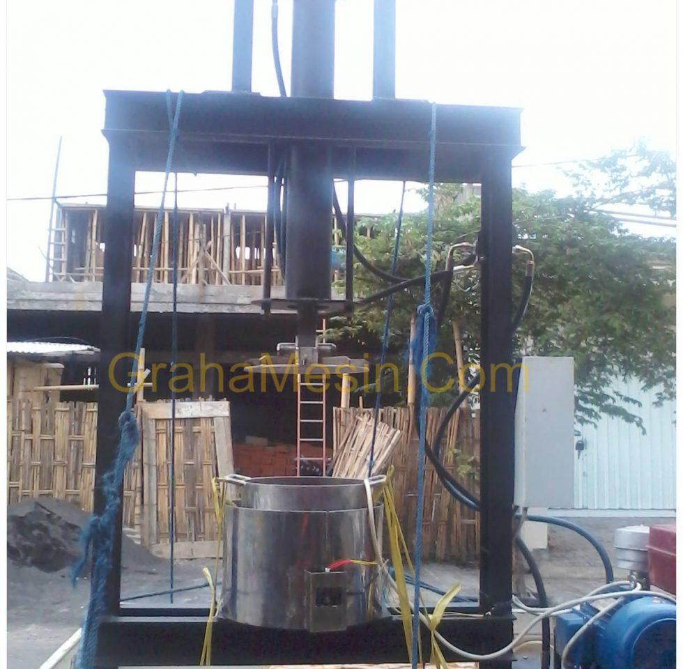 mesin pengepah lemak minyak mekanis 2018