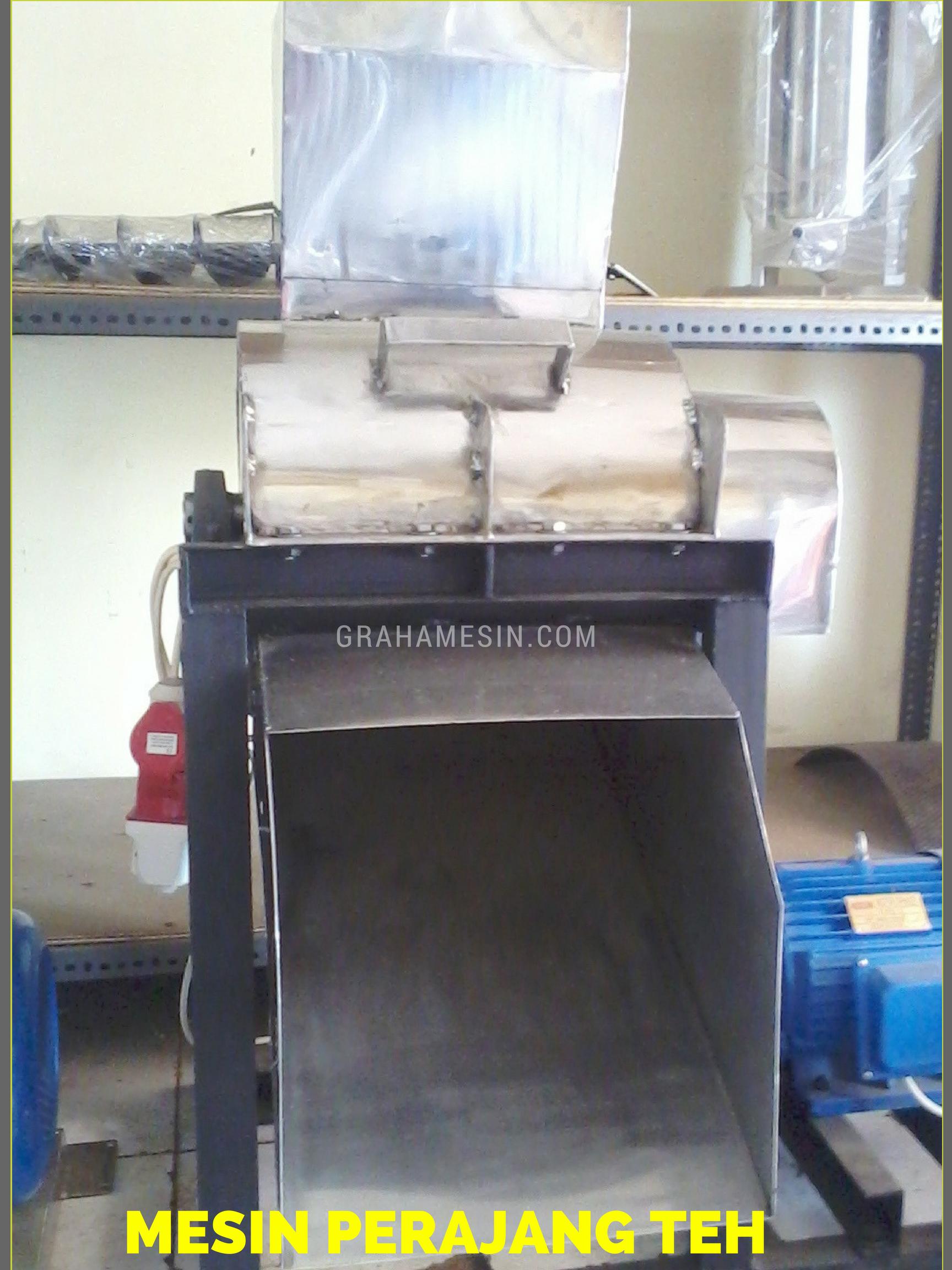 mesin pencaah daun teh