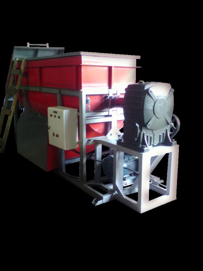 mesin ribbon mixer cocopeat