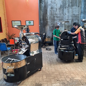 mesin roasting kopi indonesia