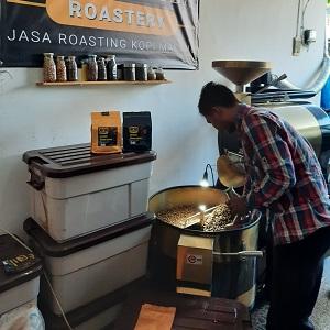mesin roasting malang robhan